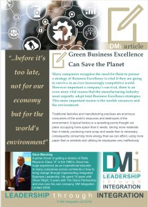 Green Business Excellence
