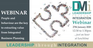 DMi - Webinar: People and Behaviour are the Key to Extracting Value from IBP @ n/a