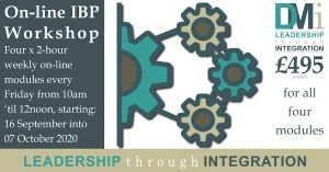 On-line IBP Workshop: Modules 1 to 4 (£495 + VAT) @ On-line